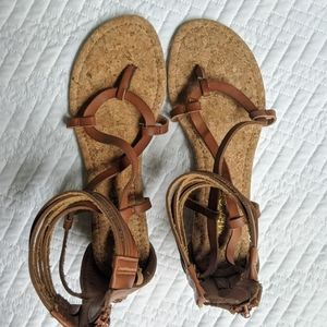 Rampage Gladiator Sandals